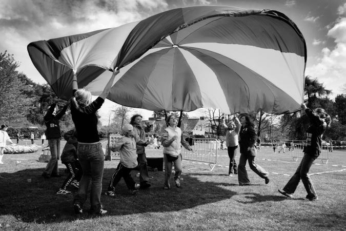 © Grégoire De Poorter - jeugdbeweging - parachute