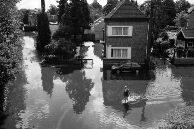 © Grégoire De Poorter - overstroming - Melle
